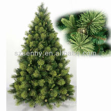 Pine Flocking Stand Christmas Trees