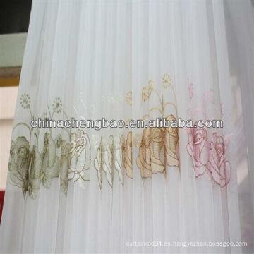 Guangdong bordado pura cortina