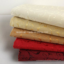 New Upscale 100% Polyester Jacquard-Stoff mit Blumen