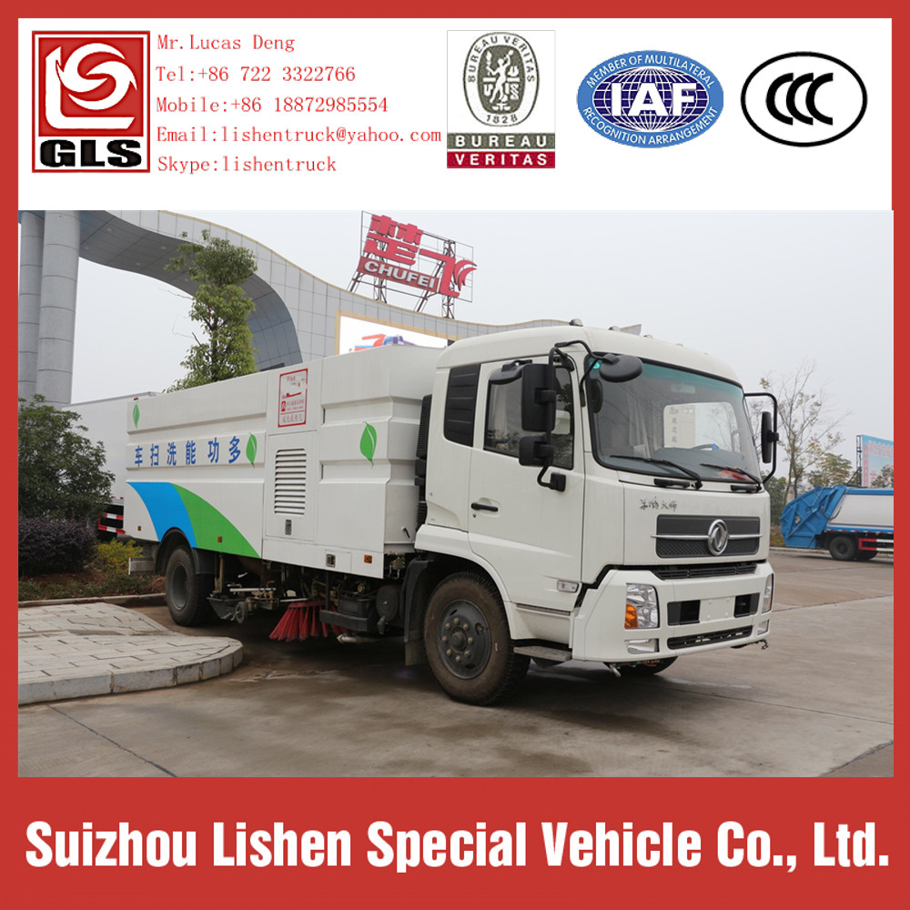 Dongfeng Vacuum sweeper Truck Road Sweeper Brushes