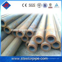 Excelente calidad bajo precio astm a105 horario 80 tubo de acero al carbono