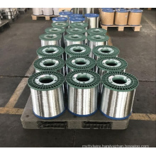 Hot Dipped Galvanized Steel Wire Making Clean Scouring Ball