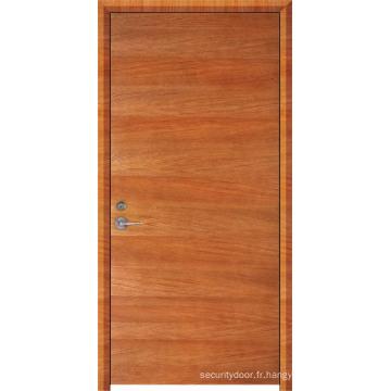 Porte ignifuge en bois