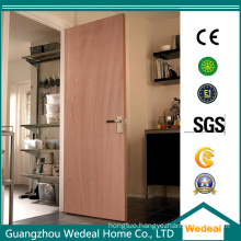 Modern Flush Wood Veneer Hollow Core/Solid Core Composite Wooden Door Factory