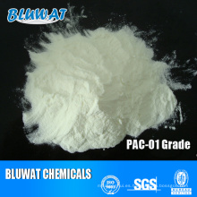 Proveedor principal de cloruro de polialuminio blanco PAC de China