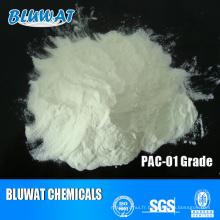 Fournisseur chinois de chlorure de polyaluminium blanc PAC