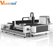 Máquina de corte por láser de fibra de tubo de acero 1000W