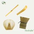 Travel Mini Whisk Utensil Bambus Kanister Tee Set