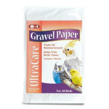 Ultracare bird gravel paper for feeding small bird