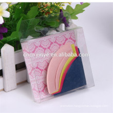 2015 new design different color Leather Corner Bookmark