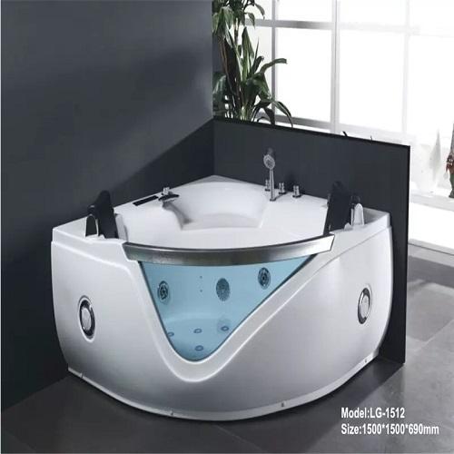bathtub with jacuzzi