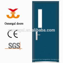 Puertas de acero de aula duraderas