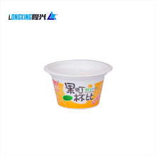 hot selling PP 150 ml  disposable plastic jelly pudding cup