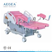 Cama de hospital de parto de parturición eléctrica de posición baja de inicio