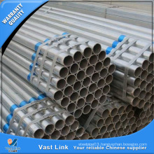 Seamless Galvanized Steel Pipe for Construction