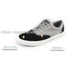 dernières chaussures de skate en cuir croûte