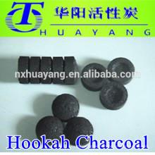 Carbón de leña redondo natural de la cachimba / carbón de madera natural de la cachimba de la cachimba