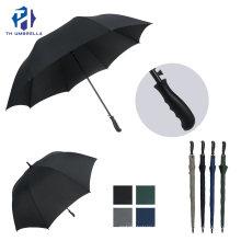 Long Stick Auto Open Golf Umbrella with Cobra Handle/New Fashion Straight Promotion Umbrella with Customized Logo Printing
