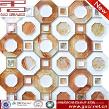 telhas de vidro do mosaico novo do projeto no acrílico para a decoração da parede da loja