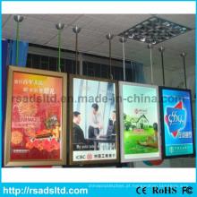 Melhor Preço Duplo Lados LED Poster Quadro Caixa de Luz