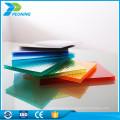 Bayer Rohmaterial drei Dreifachwand recycelt Polycarbonat Hohlplatte Blatt