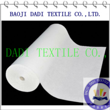 White bleached textile cloth