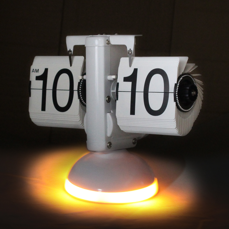 Lighted Flip Clock
