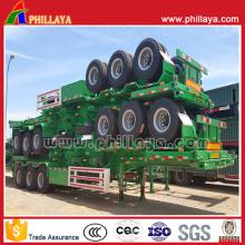 40-Tonnen - 60 Tonnen 3-Achser 40FT Chassis Container Pritsche LKW Semi Trailer