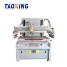 CE Semi-auto Flat Paper film Silk Screen Printing Machine