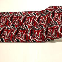 Печатная полиэфирная ткань Crepe Crumple