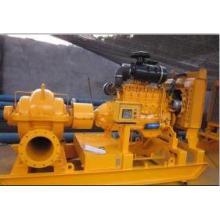 Disel moteur Split d'aspiration Double enveloppe Irrigation pompe à eau centrifuge