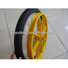 "20""x2.50 inflate rubber wheel/tire for bicycle/ showcase"