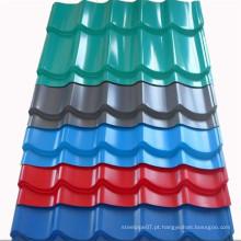Painéis de telhado ondulado de fibra de vidro fabricados na China