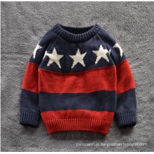 Europa e a camisola quente americana dos meninos da venda / camisola do algodão para crianças