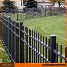 ПВХ покрытием декоративные стали забор