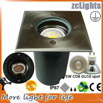 COB LED impermeable IP67 luz de tierra al aire libre LED