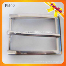 PB10 Fashion Mens Quality Pin Buckle for Leather Belt 30mm leather covered belt buckle
