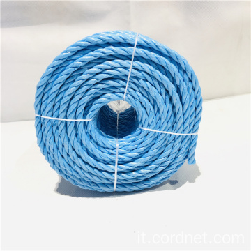 Corda Twist Cord Red Hot Sale in PP blu