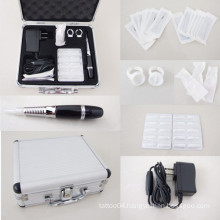 Pro Permanent Eyebrow Lip Eyeline Rotary Tattoo Pen Machine Makeup Tool Kit