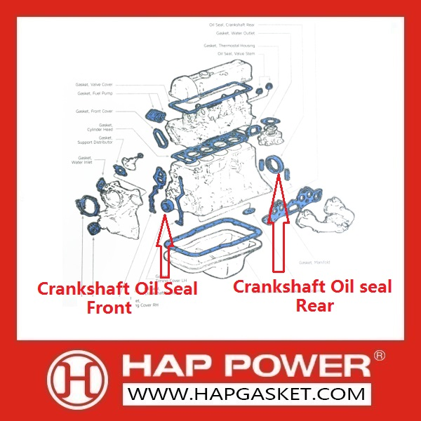 Crankshaft Oil Seal 3921927