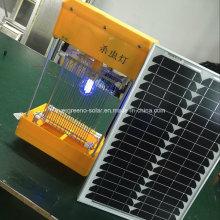 Солнечная светодиодная наружная лампа для защиты от вредителей
