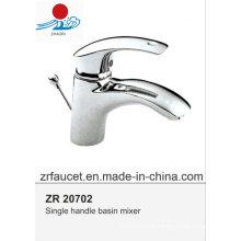 Новый дизайн Высококачественный латунный корпус Zinc Hanlde Basin Faucet