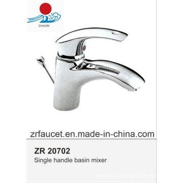 Novo design de alta qualidade em bronze do corpo Zinc Hanlde Faucet da bacia