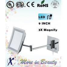 9 polegadas de alta qualidade do espelho do banheiro de LED borboleta (D902)