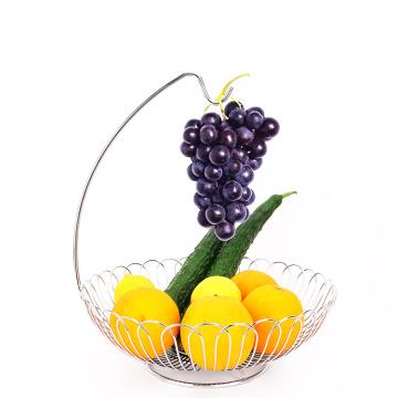 Metal Wire Fruit Storage Basket Hanging Fruit Basket