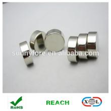 aimants ronds pour le tissu de revêtement de nickel