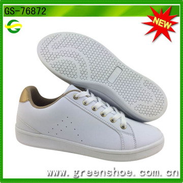 New Popular White PU Shoes for Women