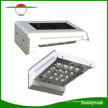16LED Solar Penel Power PIR Motion Sensor Wall Light Wireless Outdoor Lighting IP65 Waterproof Garden Lamp Night Light