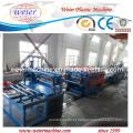 Linha de máquina de produção de placa de espuma de PVC Crusted