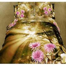 Algodón 3d hojas de cama frescas a la venta Made in China
